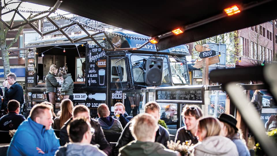 Het Dorrup On Tour Biertruck