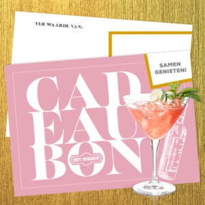 Cadeaubon High Cocktail